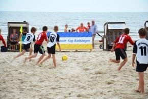 Kinder Beachsoccer Cup Karlshagen 2014