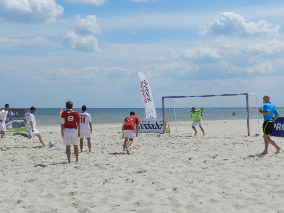 Beachsoccer Cup Karlshagen 2012