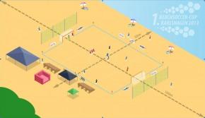 Aufbauplan Beachsoccer-Cup Karlshagen