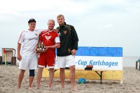 Beachsoccer-Cup Karlshagen Siegerehrung